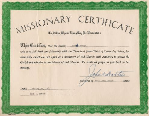 how to open a mission call